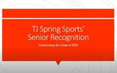 Recognition video celebrates spring sports seniors