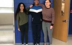 As part of the Student Diversity Initiative at Jefferson, Kaur (left) poses for a club photo.