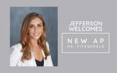 Jefferson's newest administrator, Ms. Laura Fitzgerald, will direct the Class of 2023 and other departments.