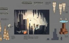 The Minecraft 1.17 update will allow the world to generate realistic structures such as stalactites and stalagmites in caves, along with better mountains, shown by this concept art. Image courtesy of Minecraft Gamepedia.