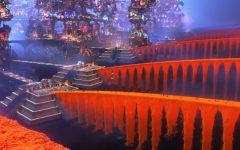 Caption: The Pixar movie Coco's interpretation of the bridges to the land of the dead. Photo courtesy of fandom.disney.com.