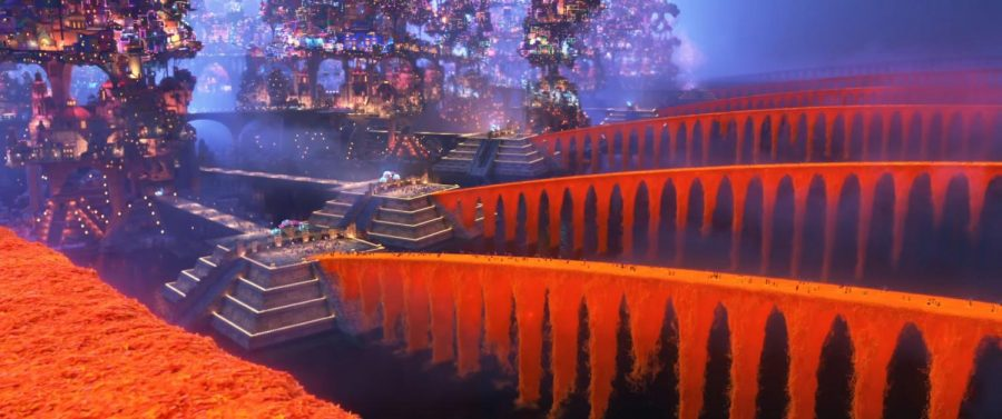 Caption: The Pixar movie Coco's interpretation of the bridges to the land of the dead. Photo courtesy of fandom.disney.com.