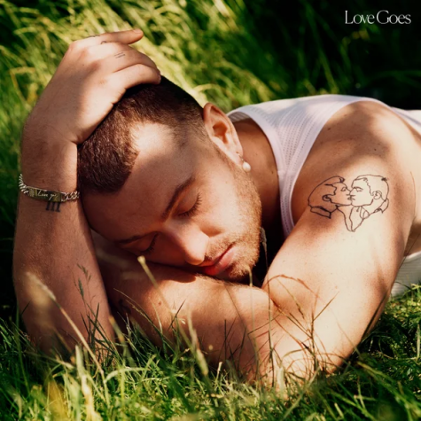"Above is the album cover for ""Love Goes,"" Sam Smith's third studio album released on Oct. 30. Smith returned three years after the release of ""The Thrill Of It All"" to drop this album."
