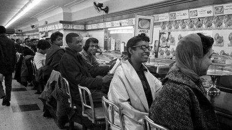 "After being refused service, African-American demonstrators occupied a lunch counter in Nashville, Tennessee during the year of 1960.  ""One thing I am really excited about is the opportunity for students to examine how African Americans are not a monolith group and that there is a lot of diversity within the ethnic group. Being able to look at areas of intersectionality can help us better understand how that particular ethnic group is diverse within itself along with how different perspectives and viewpoints vary,"" assistant principal Cynthia Hawkins said."