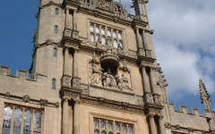 Although British schools, like Oxford and Cambridge, and American schools, such as the Ivy Leagues, are considered equal in academic stature, our highly competitive American universities have much lower rates of acceptance. One reason for the higher admissions rate at Oxford is the decreased number of applicants.