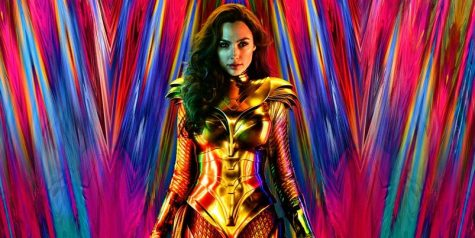 """The poster for """"Wonder Woman 1984,"""" starring Gal Gadot and available in theaters or HBO Max until Jan. 24."""