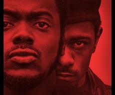 Lakeith Stanfield as Bill O'Neil standing behind Daniel Kaluuya as Fred Hampton.