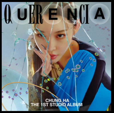 "The cover of her new album ""Querencia"" depicts the artist's dramatic growth in artistic style and popularity in the KPOP industry ever since her solo debut in 2017 with ""Why Don't You Know."""