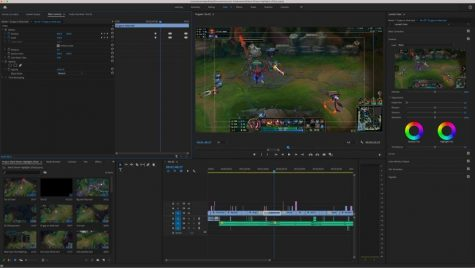 "Junior David Hu uses video-editing software Adobe Premiere Pro to produce and edit videos. One of the goals of Studio Finish is to make video editing resources, including Premiere Pro, more accessible to students. ""We"