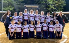 The Jefferson softball team's official picture from the 2019 spring season.