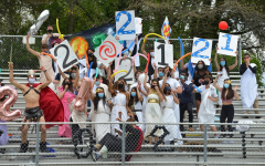 """Screaming out their roll calls so all the other classes can hear them, the senior class of 2021 unites to crush the other classes in a competition of school spirit. """"It was pretty exciting; we have always had really spirited roll calls so it was nice to be able to do it one last time,"""" Quentin Lovejoy, a senior in the stands, said."""
