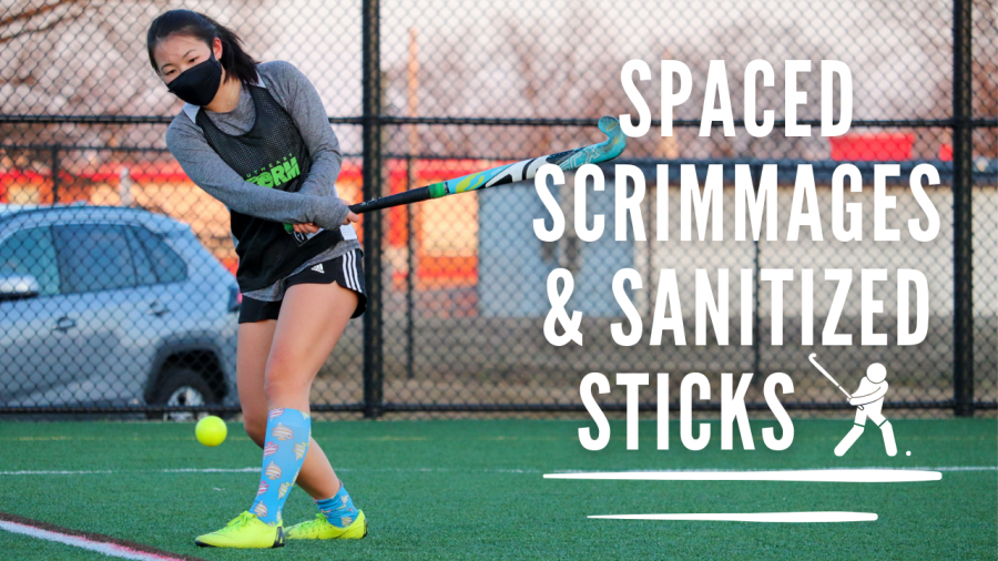 Spaced Scrimmages and Sanitized Sticks