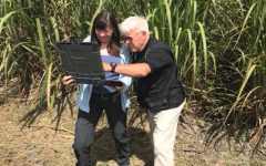 Jovanovic visits a hydromapping site as part of a diplomatic mission to Costa Rica.