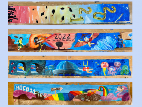 The 2021 Homecoming Banners from the Class of 2021, 2022, 2023, and 2024 were developed in a unique set of circumstances due to the pandemic.