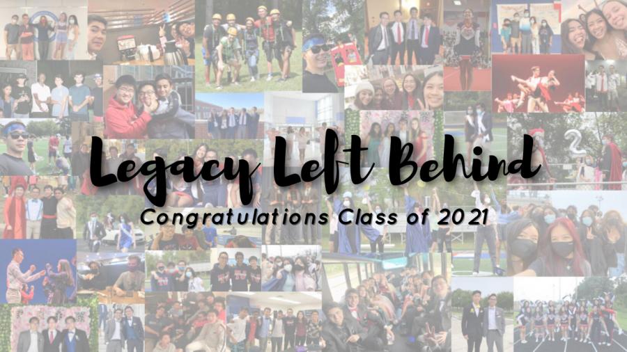Legacy Left Behind: Congratulations 2021!