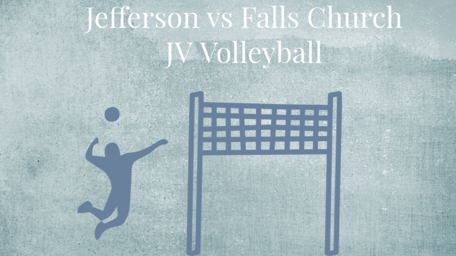 Jefferson JV volleyball takes the victory against Falls Church.
