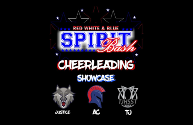 The flyer sent out advertising the old spirit bash showcase date before it was rescheduled to Oct. 9.